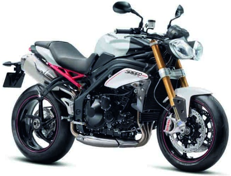 Speed Triple R  - Crystal White - F3Q