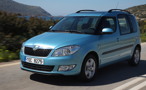 Skoda RoomsterFacelift139