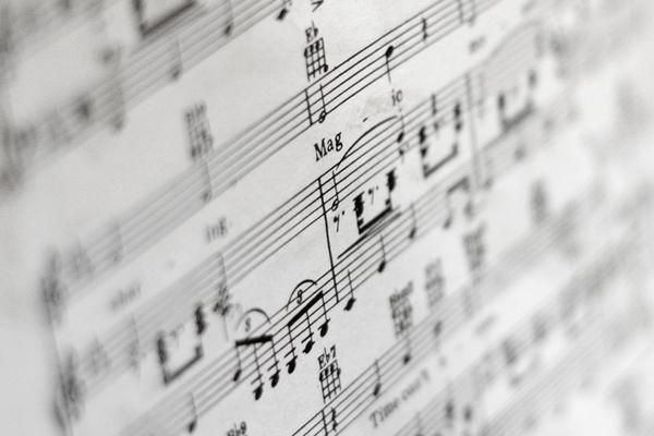 noty hudba